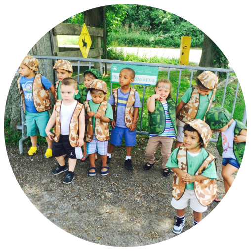 Boys and girls scout